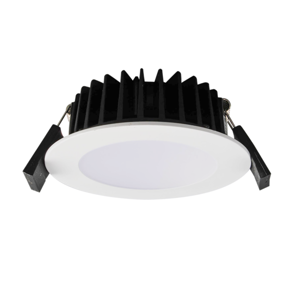 S9041 TC WH- Round LED Downlight Easy selectable colour temperature with an inbuilt DIP switch, 3000K/4200K/5700K. 10W IP44 3/4/6K Dimmable