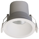 S9067WW/WH 6 watt dimmable downlight. integral dimmable driver. body colour white