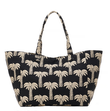 Load image into Gallery viewer, Palm print beach/tote bag