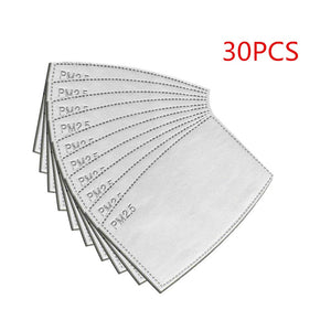 PM2.5 N95 Activated Carbon Filters 30 pack