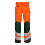 Safety Trousers Orange/Grøn