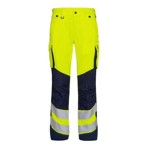Safety Trousers Gul/Blue Ink