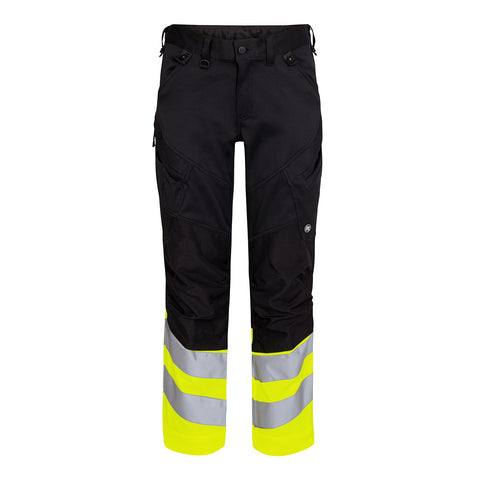 Safety Trousers Sort/Gul