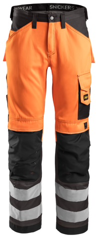 High-Vis buks, klasse 2 High Visibility Orange - Muted Black