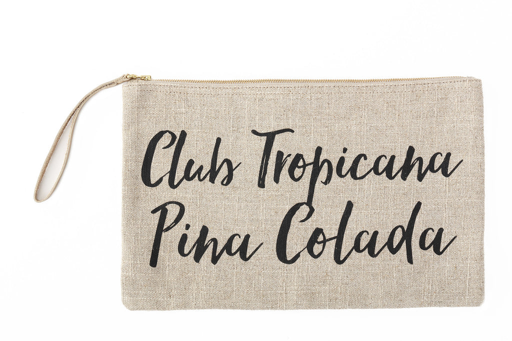 Island Vibes Clutch Bag - Club Tropicana
