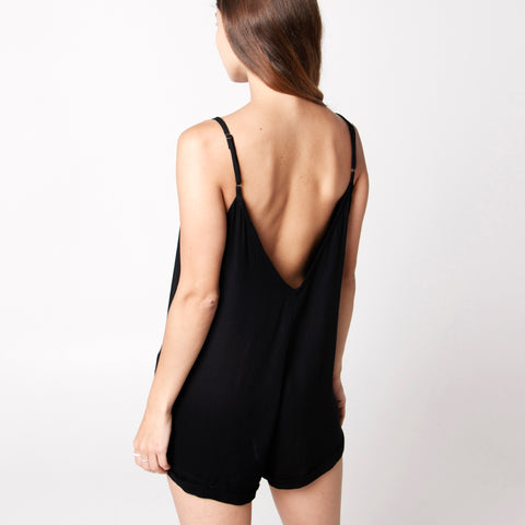 Java Java Playsuit - Black