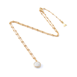 Lola Necklace - Moonstone