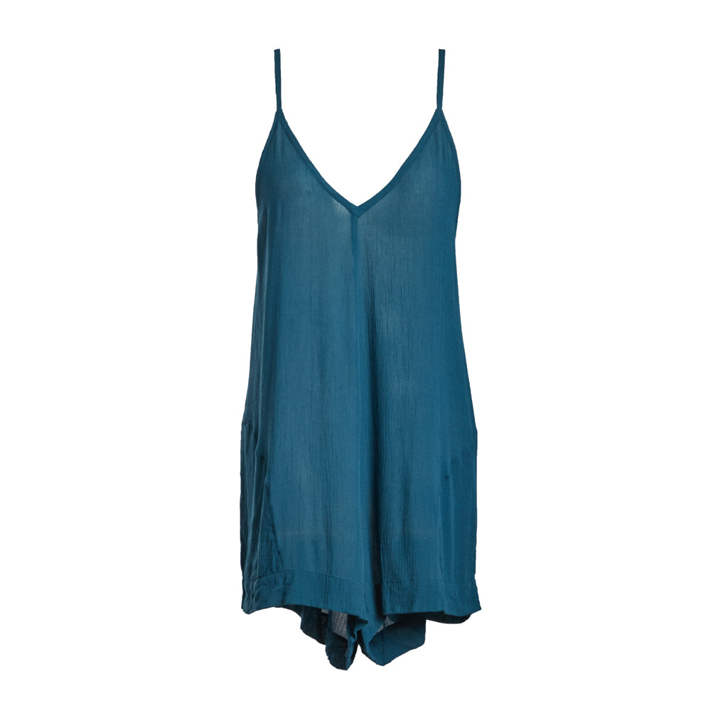 Java Java Playsuit - Petrol Blue