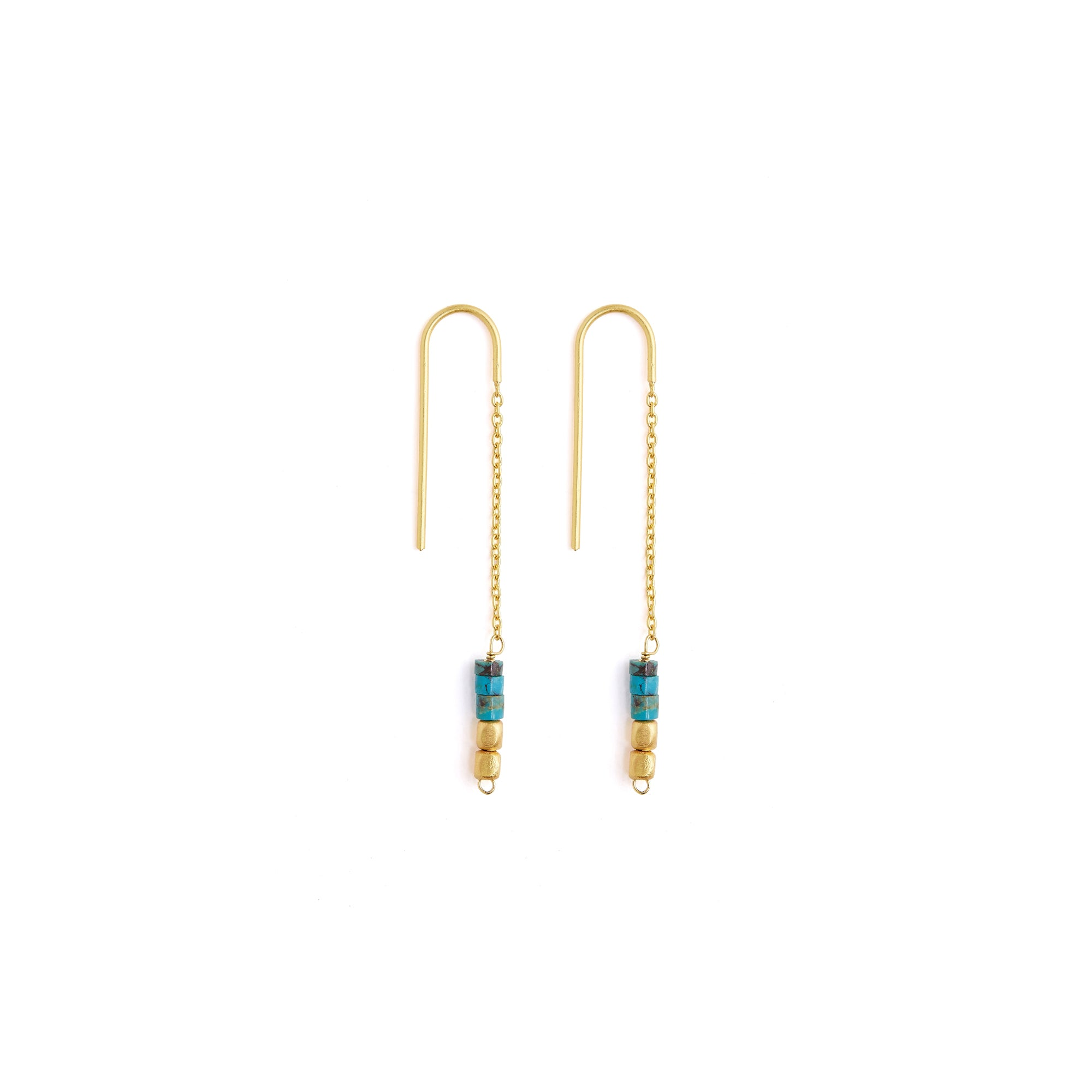 Gigi Turquoise Earrings