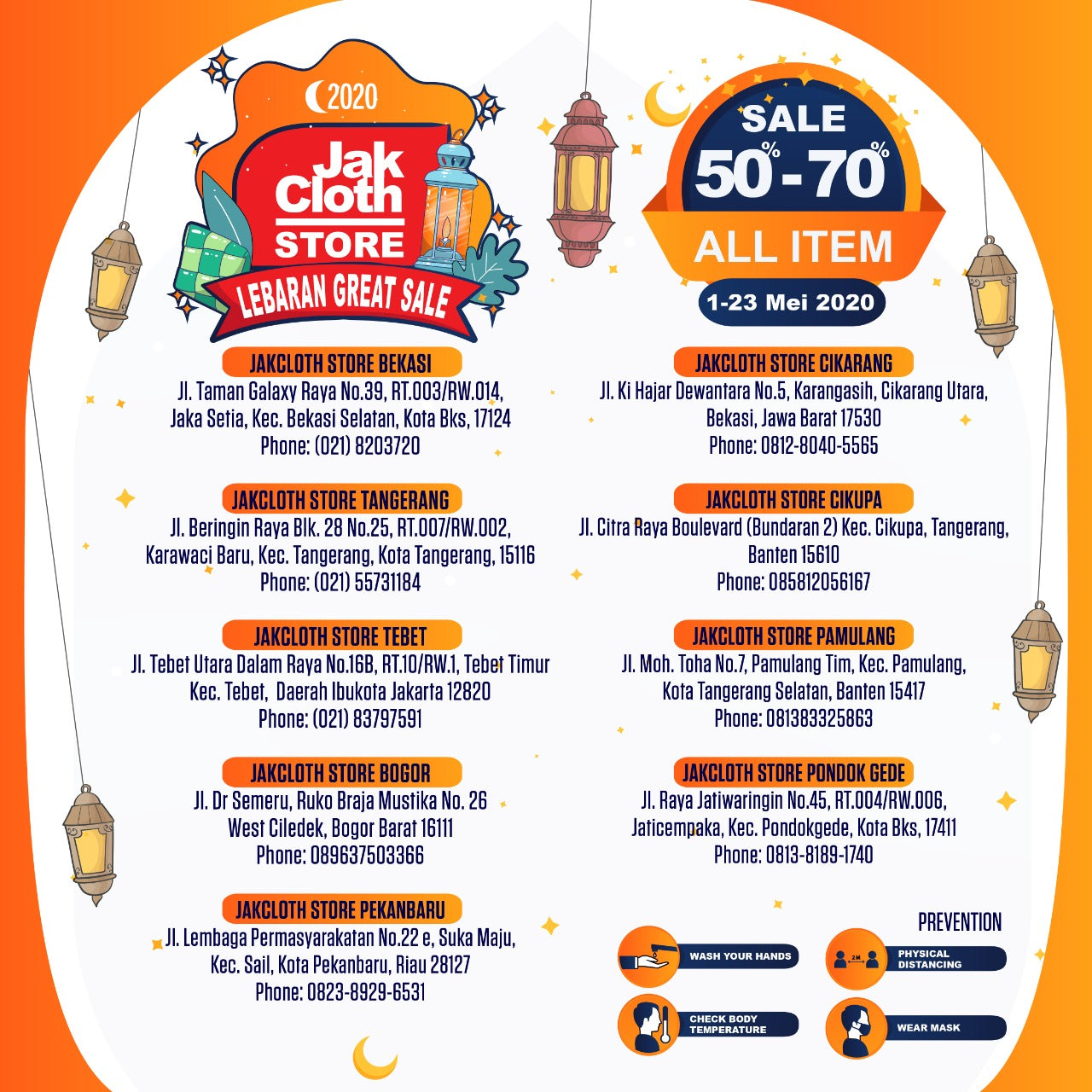 Jakcloth Store Lebaran Great Sale