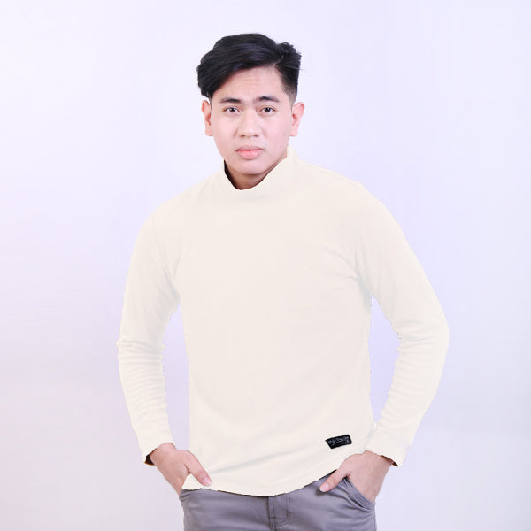 Sweater Turtle Neck White Default