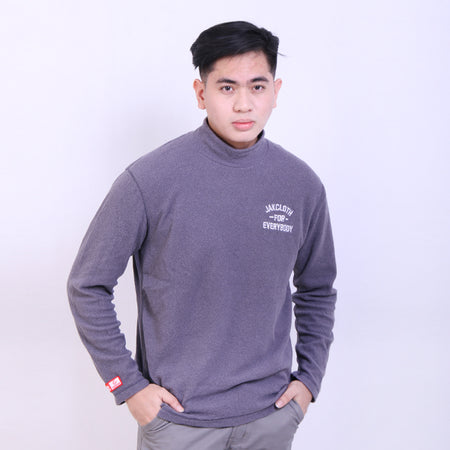 TURTLENECK JAKCLOTH EVERYBODY GREY
