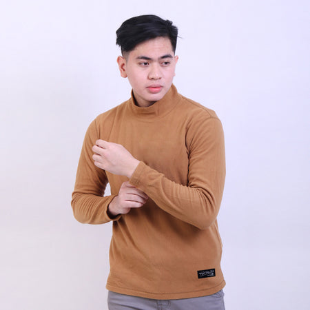 Sweater Turtle Neck Brown Default