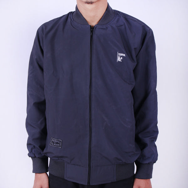MONKL BLANK Bomber M-BN GRY