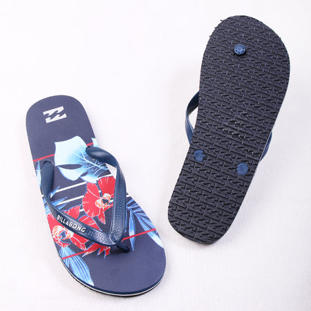 Billabong Leaf Red Blue
