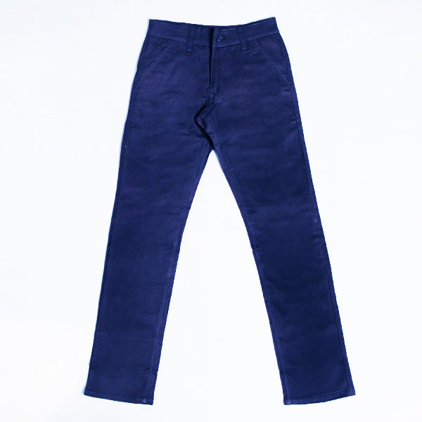 WAVE BLUE LONG CHINO