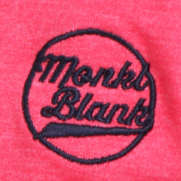 MONKL BLANK Zipper Circle Red
