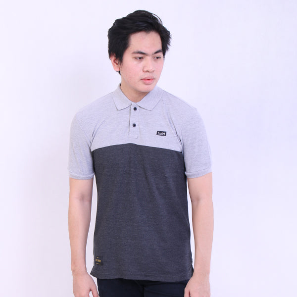 HOLD Polo PP Patch M/Grey