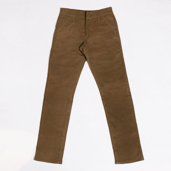 BROWN GOLDEN LONG CHINO