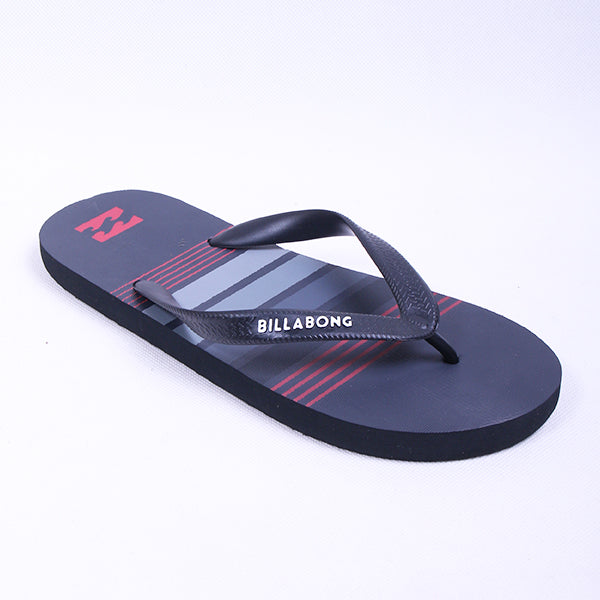 Billabong Stripe Grey Red