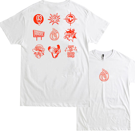 CROOZ ESSENTIALS - WHITE