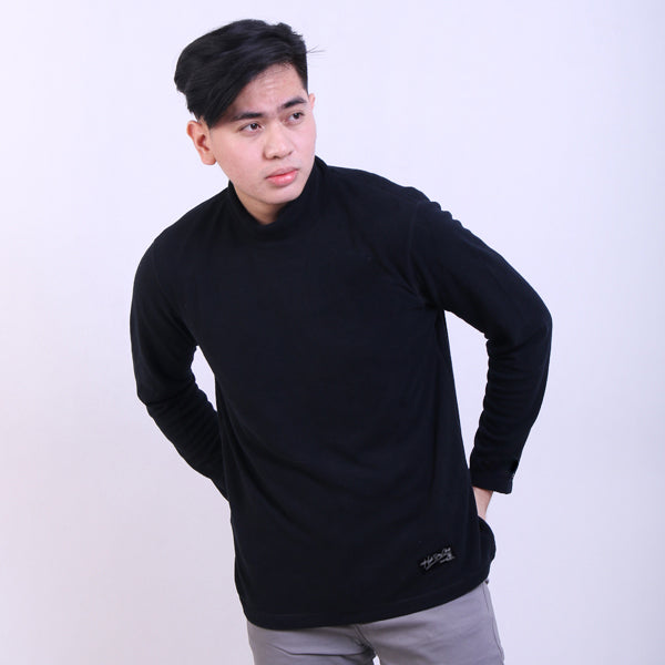 Sweater Turtle Neck Black Default