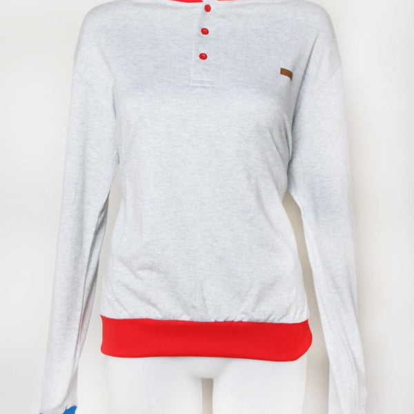 SWEATER NECK RED POSTCLOTHING Default