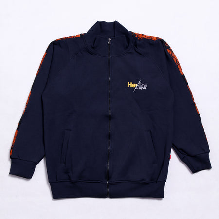 NAVY TRACK TOP ONE NAVY