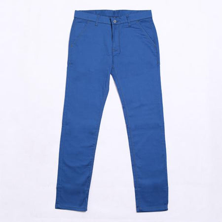 Celana Chino Patch in Blue Default