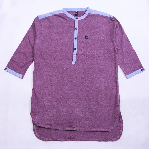 KURTA LIST SB IN MAROON