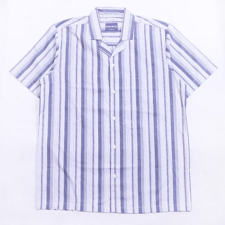 VERTICAL LINE SHIRT GREY SS