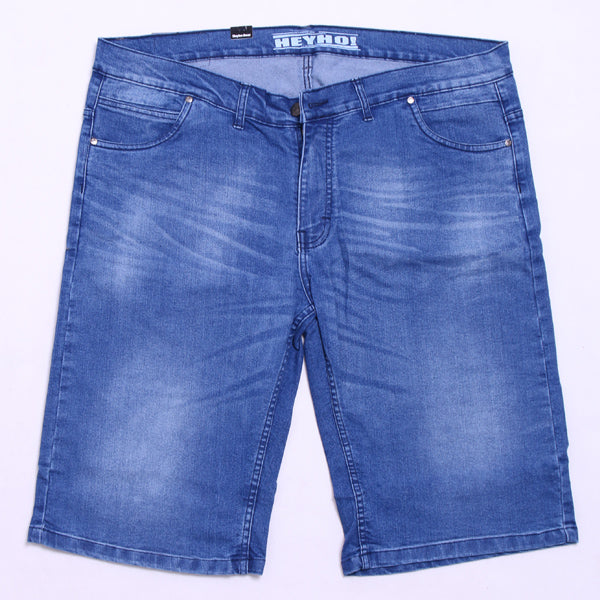 LIGHT BLUE SHORT DENIM