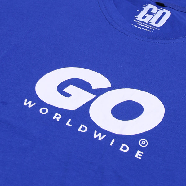Kaos GO WORLDWIDE Blue Small World Wide Default