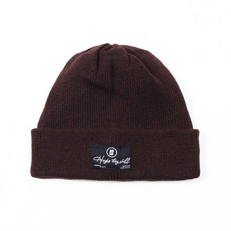 HEYHO Stay Chill Beanie Dark Brown