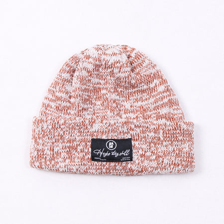 HEYHO Stay Chill Multicolour Beanie Brown