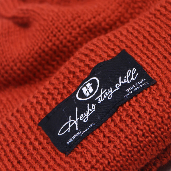 HEYHO Stay Chill Beanie Orange