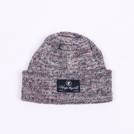 HEYHO Stay Chill Multicolour Beanie Grey
