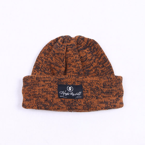 HEYHO Stay Chill Multicolour Beanie Orange