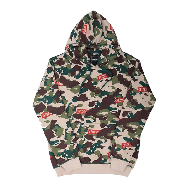 HOODIE EPIDEMIC PROPPER HD / GREEN