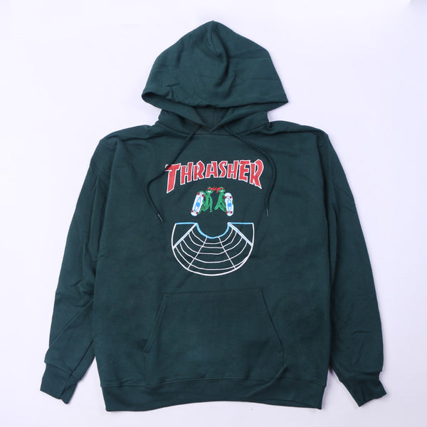 Doubles Hood Forest Green Default