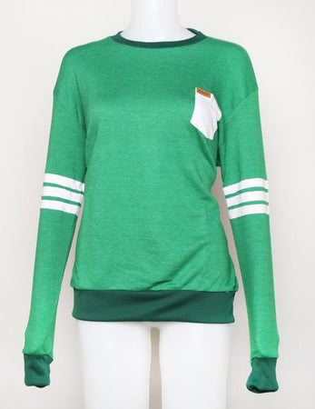 SWEATER GREEN SWEATER POSTCLOTHING Default