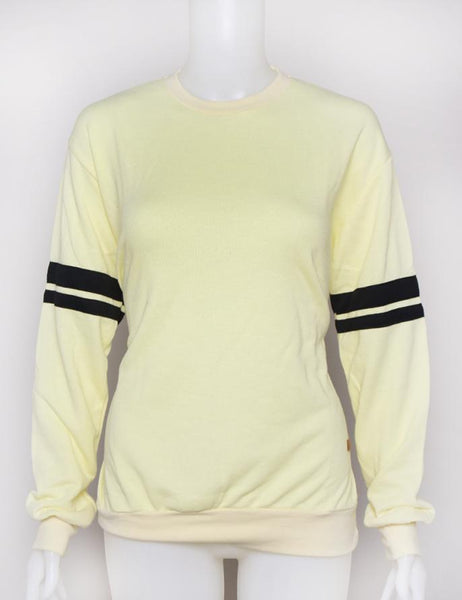SWEATER YELLOW BLACK LINE POSTCLOTHING Default