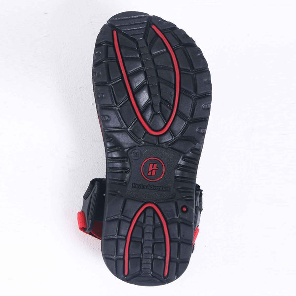 Sandal Gunung Adventure List Red