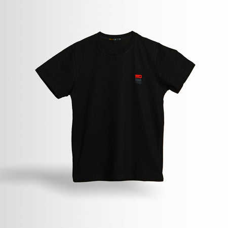 DOUBLE ONE Tshirt All Black Default