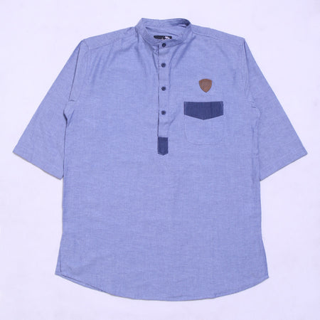 BABY ROCK KOKO LONG COMBINASI BLUE
