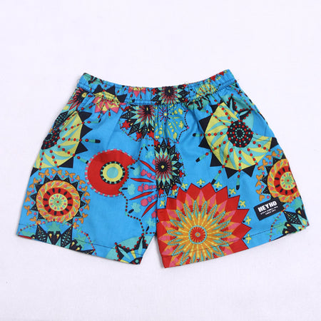 Boxer Pants Cheerfull Blue