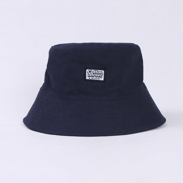 Cotton Street Bucket Navy In Navy