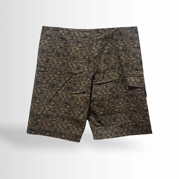 DOUBLE ONE Abstract Surfing Shorts Default