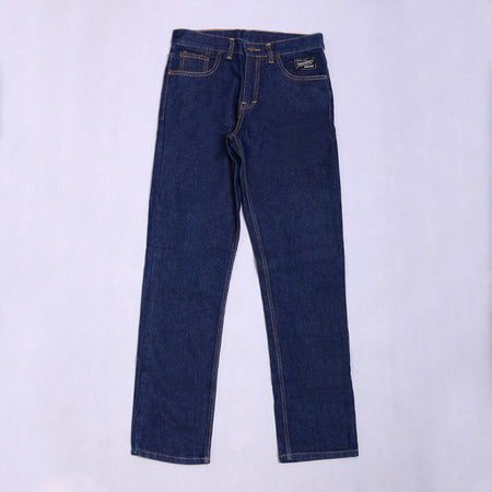 DARK BLUE LONG DENIM