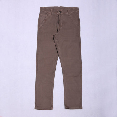 DARK CHOCO RFN LONG CHINO
